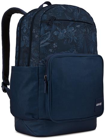 0085854243384 - Case Logic query backpack dress blue floral (29 liter)