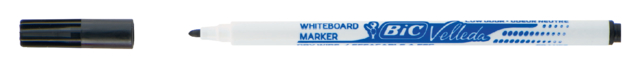 3086121721090 - Viltstift Bic 1721 whiteboard rond zwart 1.5mm