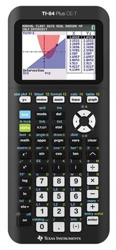 3243480105101 - Rekenmachine Texas Instruments TI-84 plus CE-T (Python Ed.)
