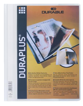 4005546267913 - Snelhechter Durable Duraplus 2579 wit (512320)
