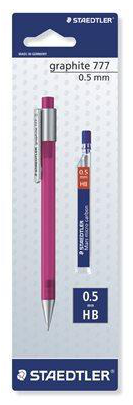4007817777077 - Staedtler vulpotlood + vulling 0.5 mm