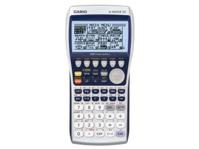 4971850186090 - Rekenmachine Casio FX-9860GII-SD