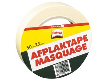 5410091645014 - Afplaktape pattex 50mx25mm creme