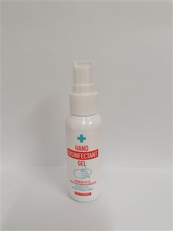 5410764315916 - Desinfecterende Handgel pump-spray, 50ml