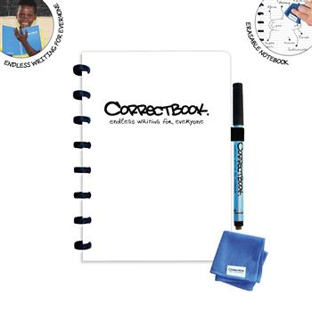 7110769586530 - Correctbook A5 White  Lined