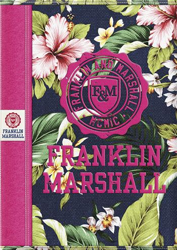 8718803450169 - Franklin & Marshall Girls A4 ruit