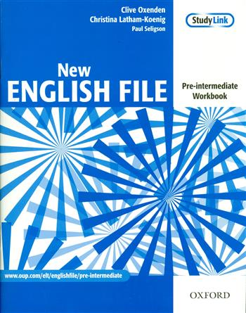 9780194384360 - New english file pre-intermediate workbook