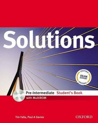 9780194551656 - Solutions pre-intermediate student's book (+ multirom-pack)