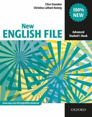 9780194594585 - New english file advanced student's book