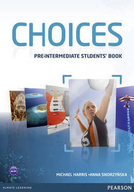 9781408242049 - Choices pre-intermediate student's book