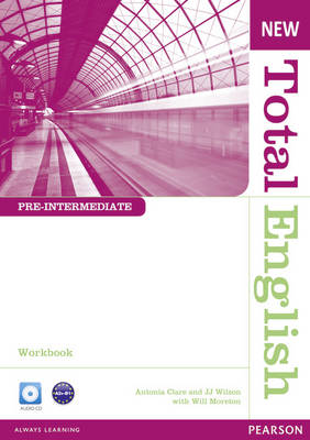 9781408267387 - Total english new pre-intermediate workbook without key