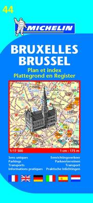 9782067117129 - Michelin plattegrond 19044 Brussel