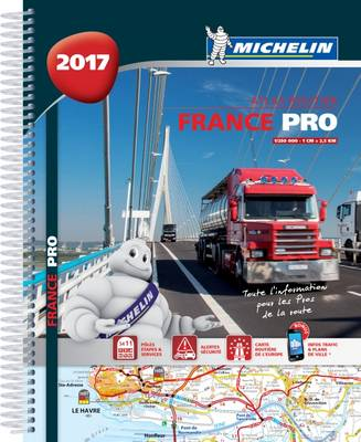 9782067219502 - Michelin atlas 20800 routier France PRO 2017