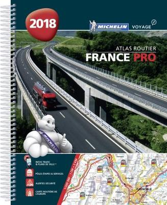9782067226722 - Michelin atlas 20800 routier France PRO 2018