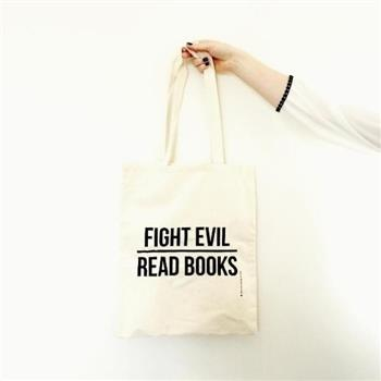 9789020698510 - Linnen tas: Fight Evil, Read Books