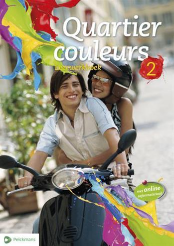 9789028977600 - Quartier couleurs 2 leerwerkboek (incl online ict)